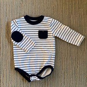 Gymboree Long Sleeve Striped Bodysuit